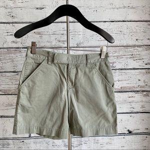 Green Banana Republic shorts